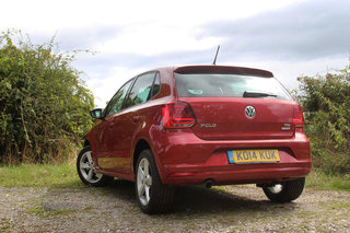 volkswagen polo 2014 first drive the sensible small car gets an internal tech boost image 5