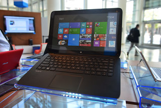 Hands-on: HP Pavilion x2: 2-in-1 pushes screen gloss to excess