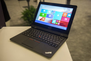 Hands-on: Lenovo ThinkPad Helix shows off fingerprint scanner, slimmer design, variety of keyboard docks