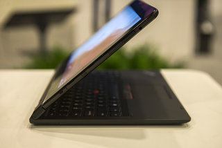 hands on lenovo thinkpad helix shows off fingerprint scanner slimmer design variety of keyboard docks image 16