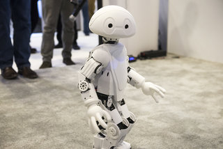 meet jimmy intel's joke telling app controlled and customisable 3d printed robot image 2