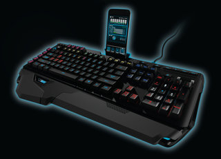 Logitech G910 Orion Spark is mother of gaming keyboards, docks with iPhone and Android for stats