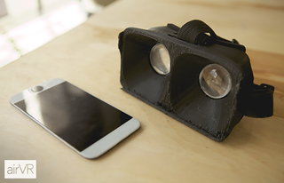 oculus who airvr straps an iphone 6 plus or ipad mini to your face image 5