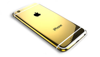 Know what's better than an iPhone 6 Plus? A 24ct gold iPhone 6 Plus worth almost £3K