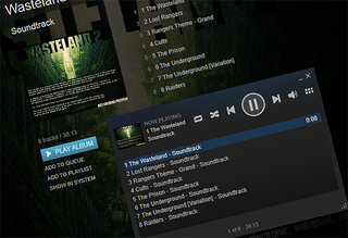 Steam takes aim at iTunes, wants to be your music player too