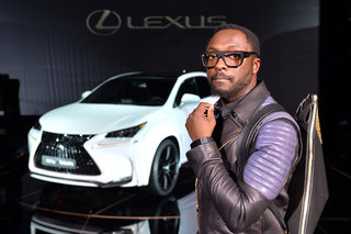 Will.i.am's Lexus NX F Sport shoots panoramic pics while out driving, sends them to smartphones
