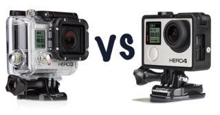GoPro Hero4 Silver Edition vs GoPro HD Hero3 + Silver Edition: ¿Cuál es la diferencia?