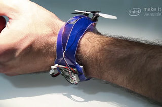 Nixie is the future of selfies, a wearable drone camera that flies off your wrist