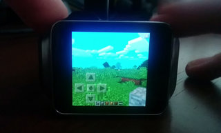 Yes, you can play Minecraft on an Android Wear smartwatch, Gear Live demo is bonkers (video)