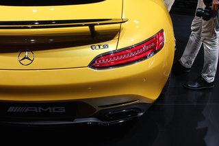 mercedes benz amg gt no gulwing doors can v8 powerhouse fill sls s boots hands on  image 12