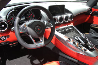 mercedes benz amg gt no gulwing doors can v8 powerhouse fill sls s boots hands on  image 13
