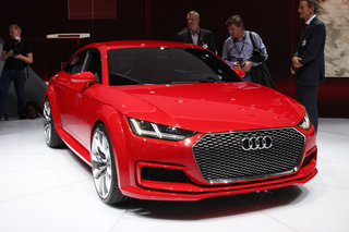 Audi TT Sportback concept: Less concept than the name suggests