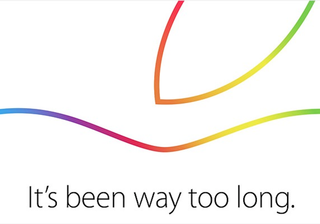 Apple 16 October event now official: 'It's been way too long'