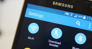 Samsung's Wi-Fi is going to be five times faster, meaning a movie download per second