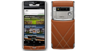 Vertu for Bentley is the smartphone for those with very deep pockets