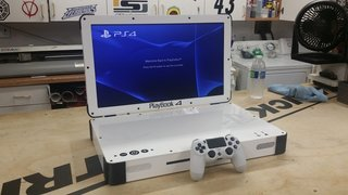 Want to turn your PS4 into a portable gaming laptop? Now you can
