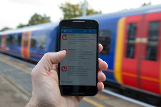 'I'm sorry, I'm on the train': Railways found to be mobile blackspots