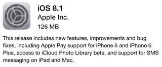 apple ios 8 1 is now out here s what the update brings and fixes image 2