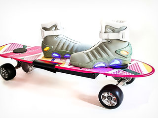 now you can go back to the future with a zboard hoverboard and high top combo for 700 image 2