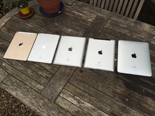 apple ipad family photo just how skinny is the ipad air 2  image 3