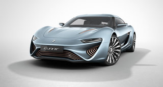 Saltwater powered Quant e-Sportslimousine, with 600km range and 0-62mph in 2.5s time, approved for EU