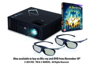 WIN: A ViewSonic 3D ready projector, X-Men: Days of Future Past and two pairs of 3D glasses