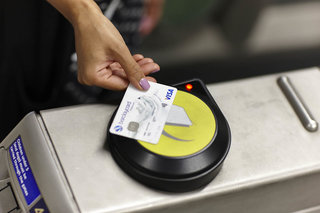 Give a penny to charity every time you use NFC to pay for travel in London