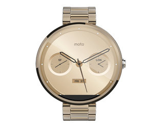 Moto 360 spotted in champagne and cognac colours, leaked by Amazon