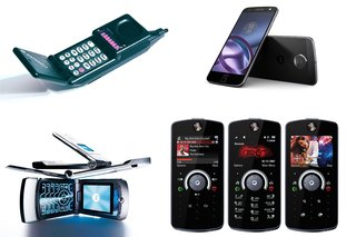 45 years of Motorola phones: The best and the worst, in pictures