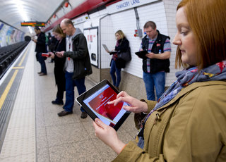 Virgin Media free Wi-Fi now available in 150 London Tube stations, including Richmond and Wimbledon