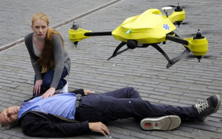 Ambulance Drone flies at 100kph for a response time of just one minute