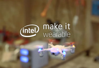 What is Intel's Make it Wearable contest and which wearables won?