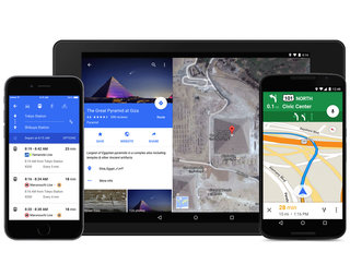 Google Maps for Android and iPhone has a new look and integration with OpenTable and Uber