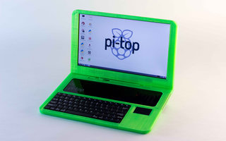 Pi-Top is the world's first 3D printed laptop, build it yourself for £180