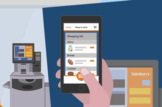 You could soon shop at Sainsbury's without having to queue at the checkout, trials new app