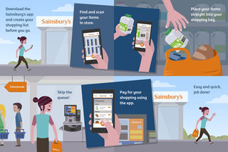 you could soon shop at sainsbury s without having to queue at the checkout trials new app image 2