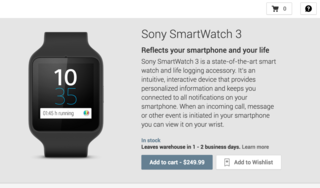 you can now buy sony s smartwatch 3 from google play store image 2