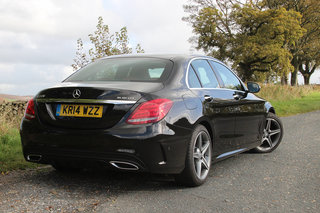mercedes benz c class first drive striking a balance between sporty and refined image 3