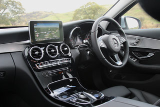 mercedes benz c class first drive striking a balance between sporty and refined image 8
