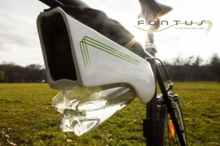 Fontus turns air into water in your bottle as you move