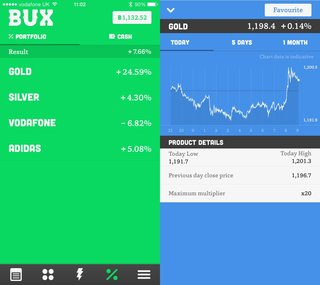bux an iphone app that makes the stock market a game image 26
