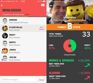 bux an iphone app that makes the stock market a game image 27