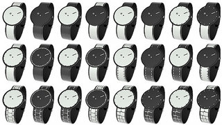 FES e-ink watch can change face and strap to match your mood, just push the button