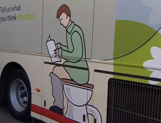 Bio-Bus powered entirely by human waste now running in the UK
