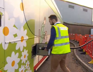 bio bus powered entirely by human waste now running in the uk image 4