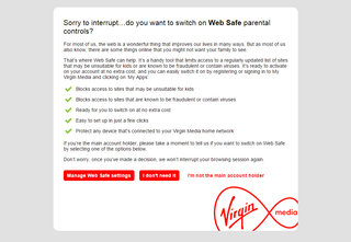 Why is my Virgin Media broadband not working? A reason why web pages are hanging