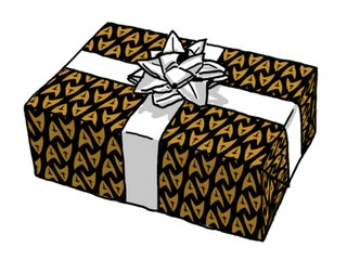36 geeky wrapping papers to use on christmas gifts this year image 34