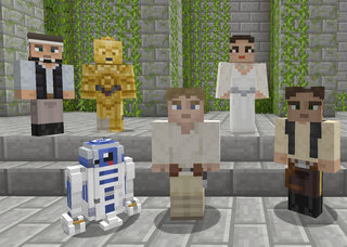 Minecraft Star Wars DLC skin pack now out for Xbox One and Xbox 360