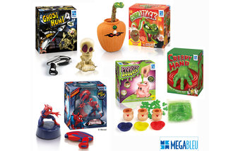 WIN: One of three Goldfish & Bison prize sets with five Megableu games in each