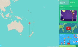 norad tracks santa vs google santa tracker which tracks father christmas best image 2